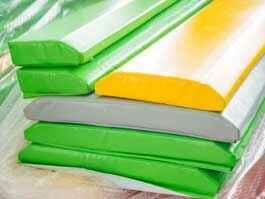 蹦床安全防护垫软包